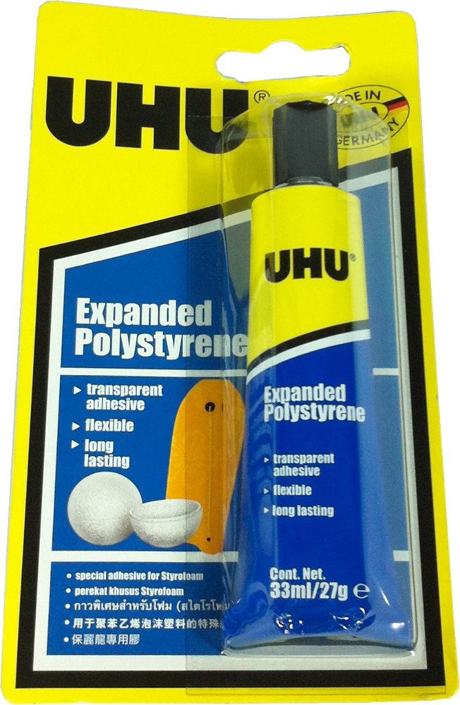 UHU EXPANDED POLYSTYRENE 33ML/27G- UH37590