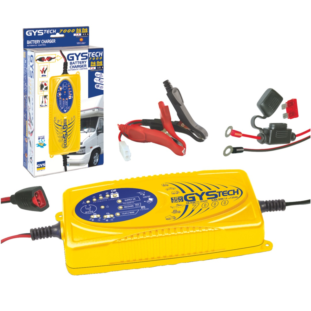 Gys Battery Charger GYSTECH 7000 - 12v/24v