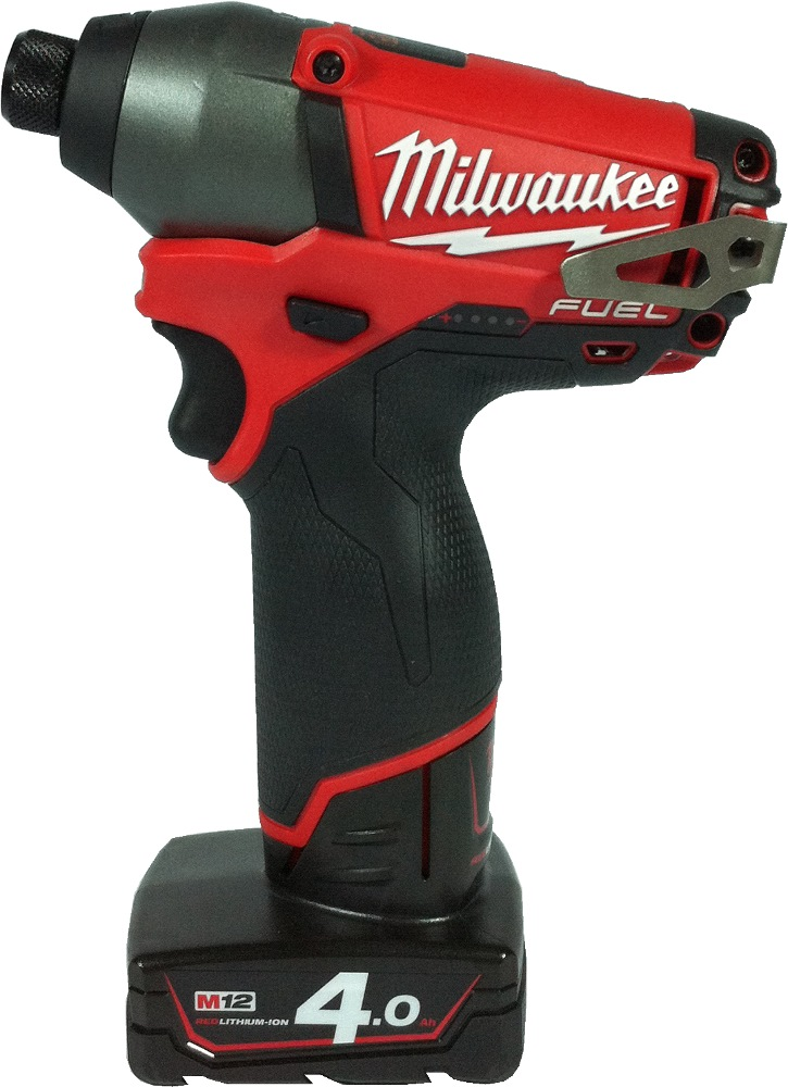 MILWAUKEE 12V 4.0AH LI-ION BRUSHLESS IMPACT DRIVER, M12CID