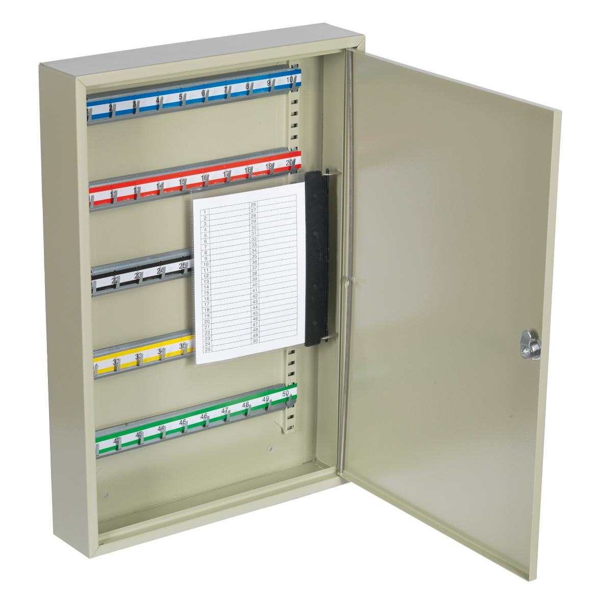 SECURE KEYCABINET  W/KEY TAGS-TS50