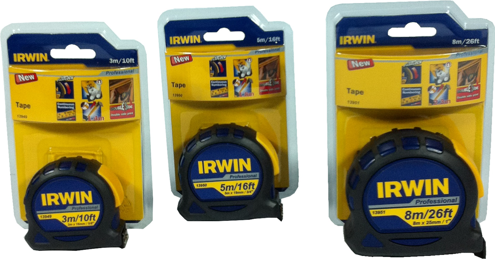 Irwin Magnetic Tip Measuring Tape