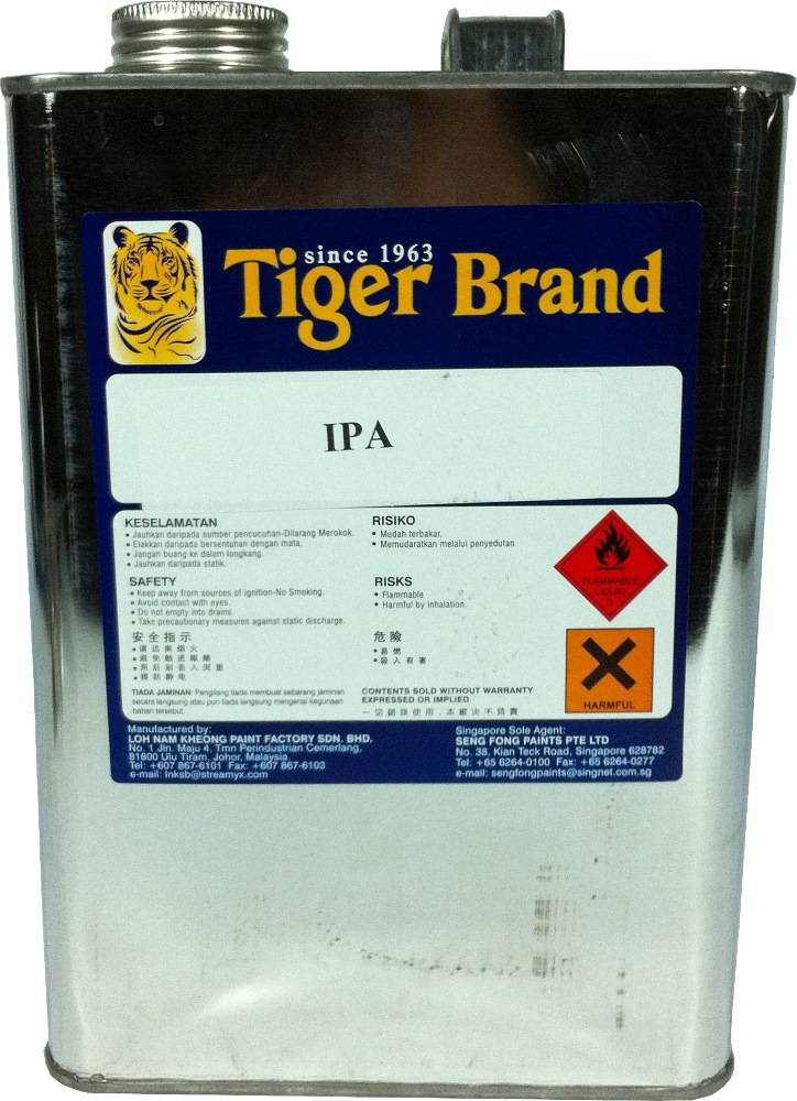 TIGER IPA (ISOPROPYL ALCOHOL)