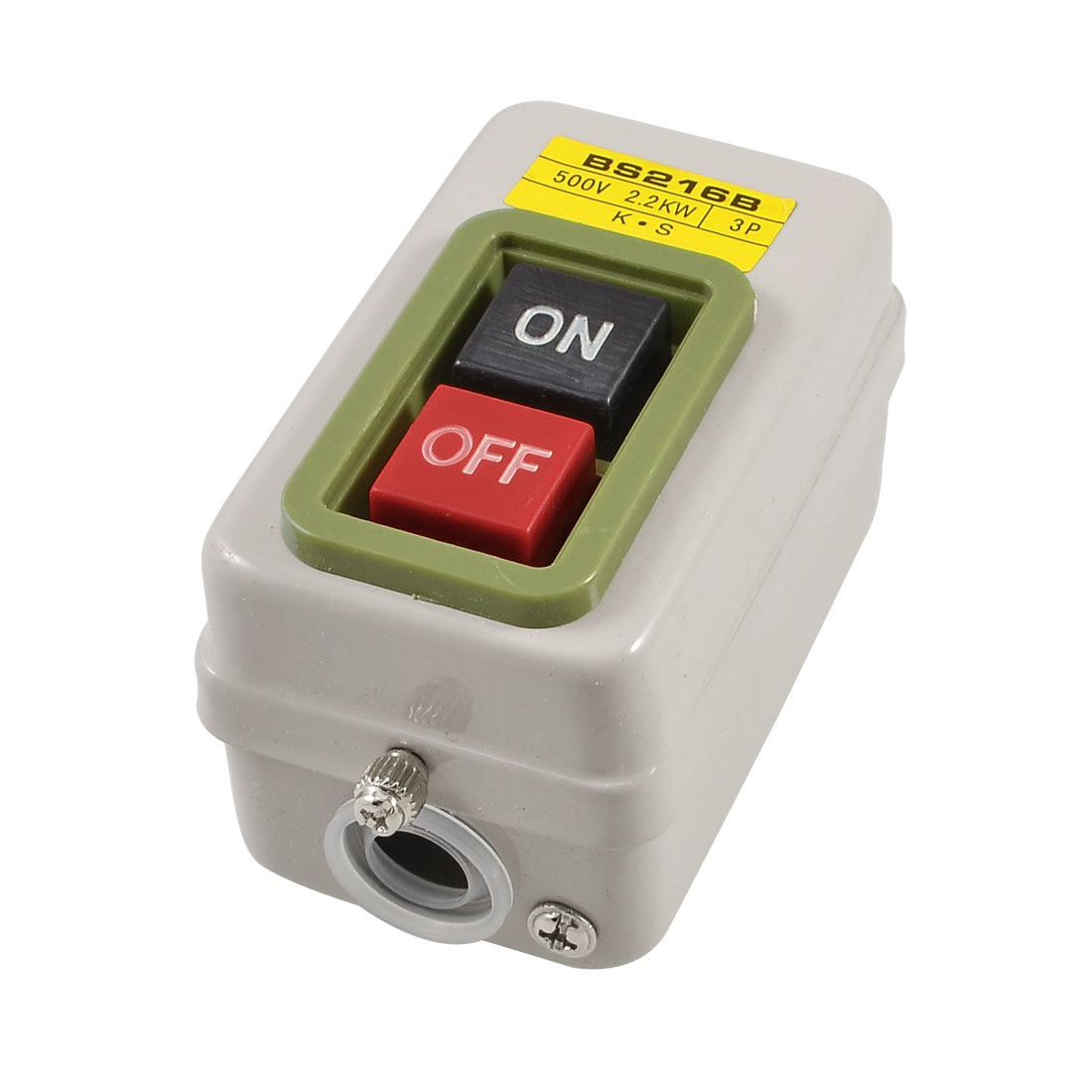 PUSH BUTTON SWITCH 2.2 KW BS216B