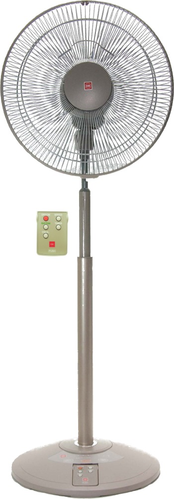 KDK STAND FAN 30CM PLASTIC BLADE WITH REMOTE, N30NH