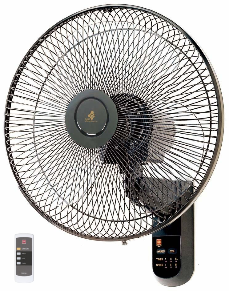 KDK WALL FAN 40CM PLASTIC BLADE WITH REMOTE, M40MS