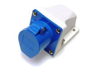 IP44 CEE SAFETY WALL SOCKET 16A 3PINS