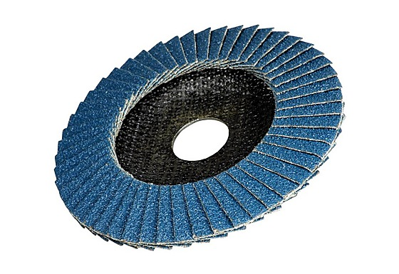 "BCL FLAP DISC ZIRCONIA TYPE 4""* 5/8"""