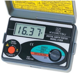 KYORITSU DIGITAL EARTH METER 4105A