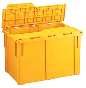 NPC PLASTIC CONTAINER WITH COVER 45L L549XW345XH339MM NLC902