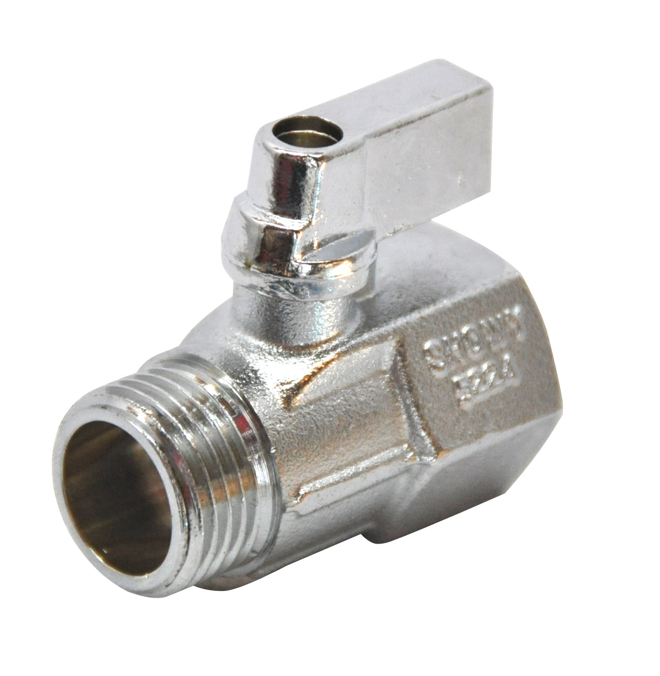 "SHOWY 1/2"" M/F MINI BALL VALVE 5224"