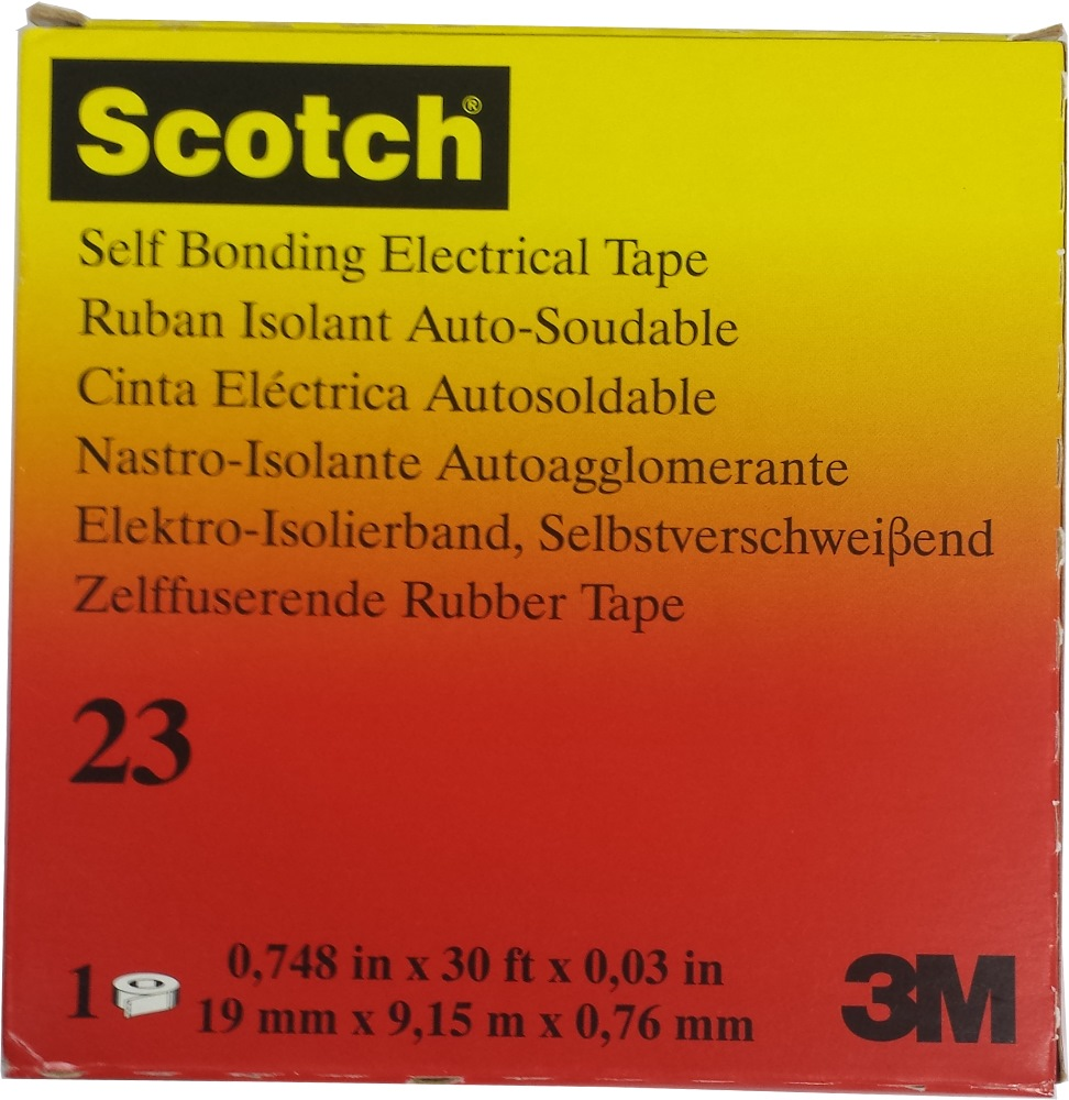 3m Scotch Rubber Splicing Tape 23