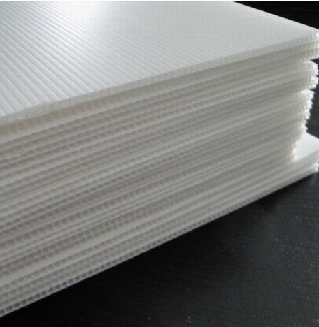 Corrugated Pp Sheet White