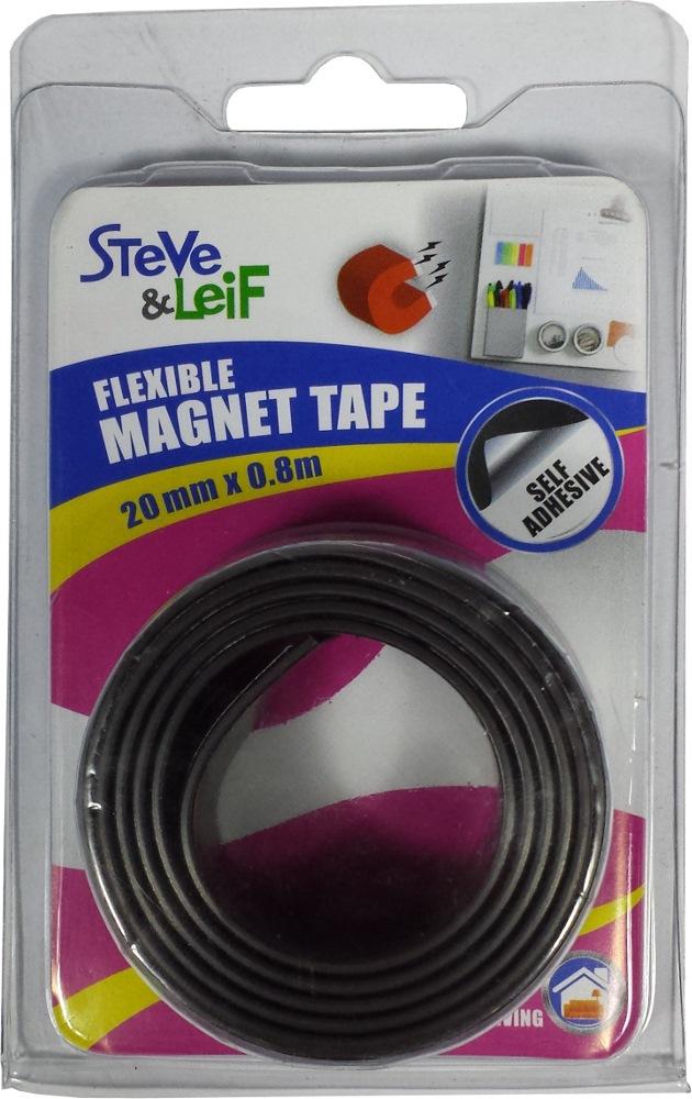 SL MAGNETIC SELF ADHESIVE TAPE 20.0MMX0.8M -SL5109