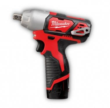 "MILWAUKEE 2.0AH LI 1/2"" DR.IMPACT WRENCH-M12BIW12-202C (12V)"