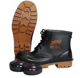 WAYNE BLACK SAFETY BOOT WITH TOE CAP WY1863