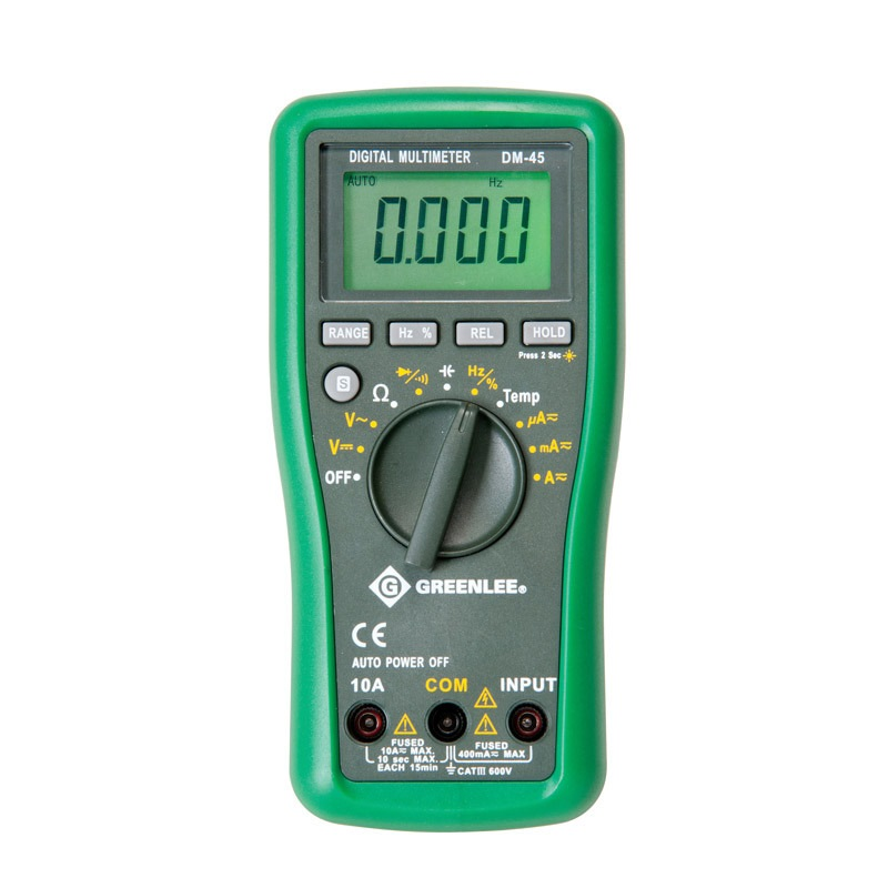 GREENLEE DIGITAL MULTI METER DM45