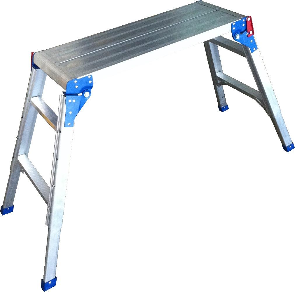 Louison Alum Adj. Height Platform Ladder LPA698