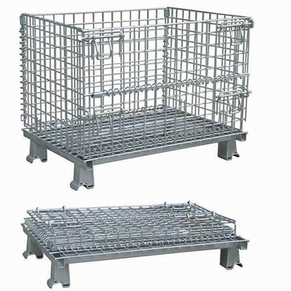 HORME COLLAPSIBLE GALV WIRE CONTAINER 1200*1000*890H, CAP.1300KG