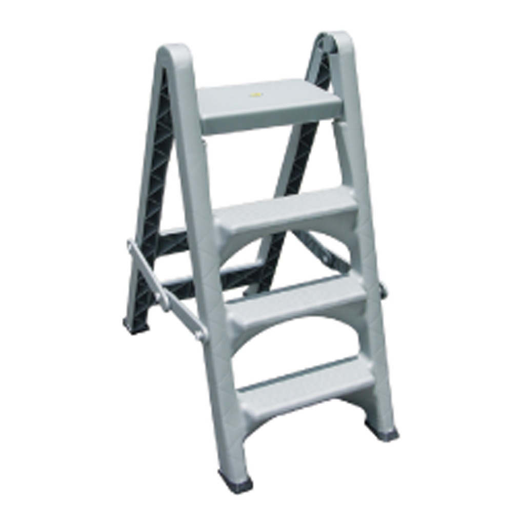 Toyogo 4 Step Plastic Ladder 7743 (pack of 2 Units)