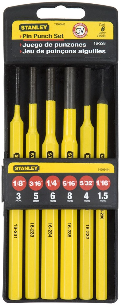Stanley Punch Kit 6pcs 16-226