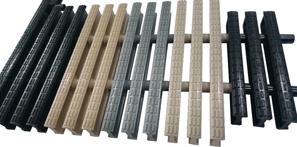 PVC Drainage Swimming Pool Grating PDG-01 (Per Meter)