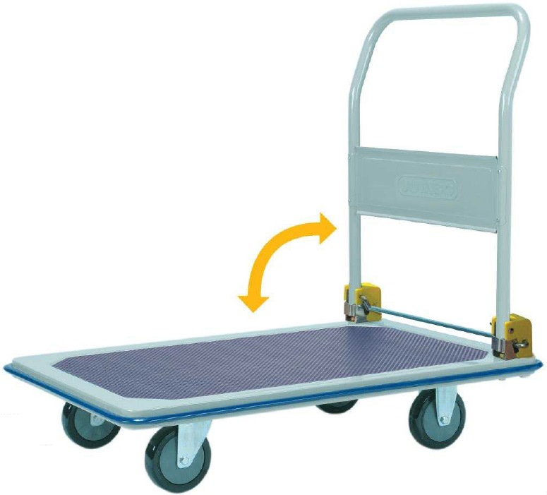 Jumbo Foldable Handle Trolley 370kg L915*w615*h860 HB210C