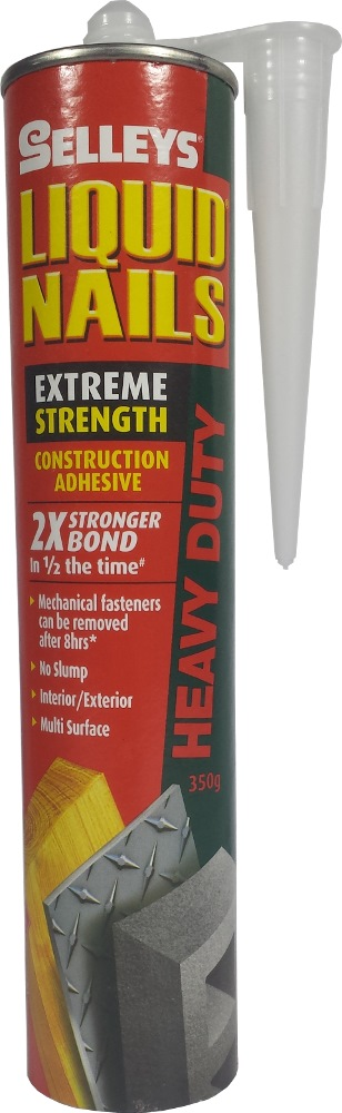 Selleys Liquid Nails Heavy Duty 2x Stronger Bond 350GM 124616 (MOQ: