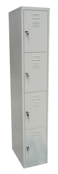 UIB106 4 COMPARTMENT STEEL LOCKER