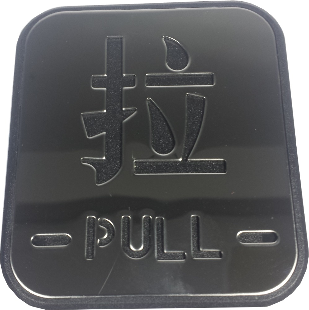 TTAS SS SIGN PLATE PULL-SP 04