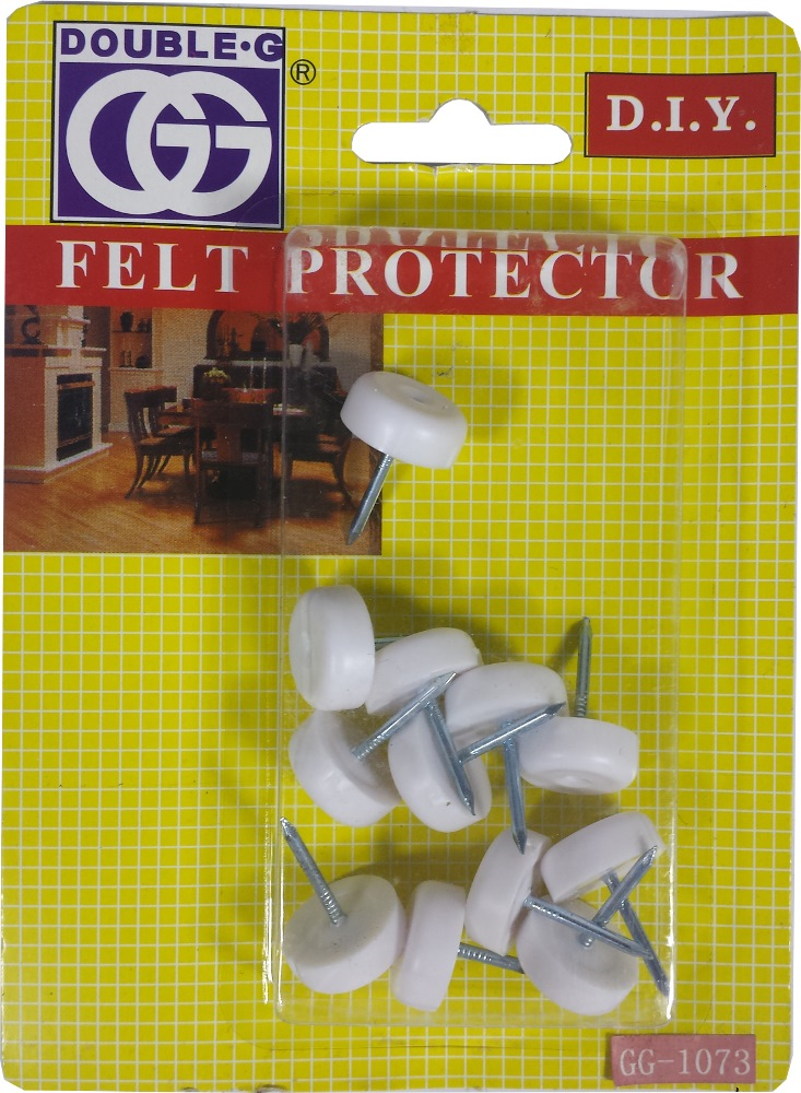 GG MED NYLON PROTECTOR/NAIL 16MM GG1073W- 12PPP