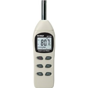 EXTECH LOW/HIGH RANGE DIGITAL SOUND LEVEL METER 407732