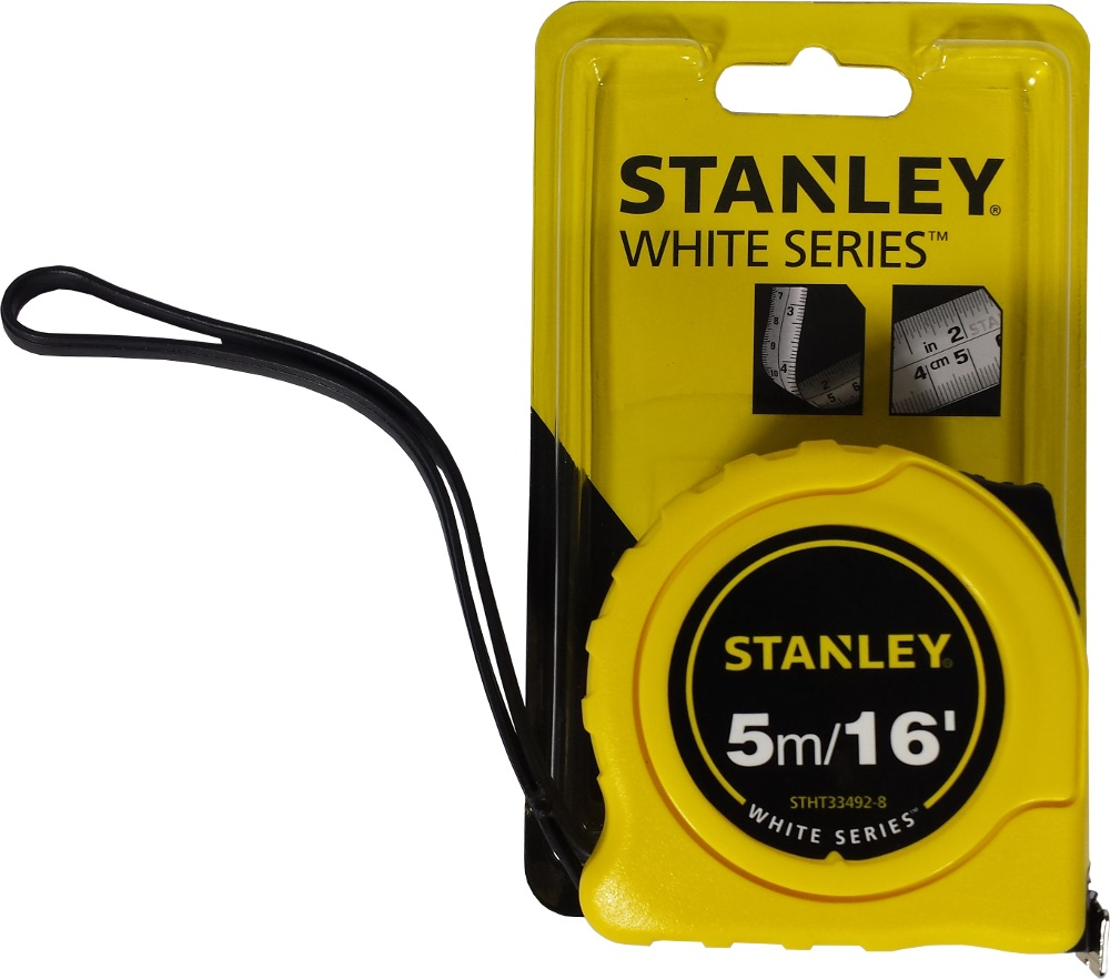 Stanley Measuring Tape, White