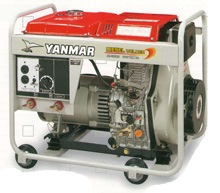 Yanmar Air Cooled Diesel Welder-generator YDW190( 190v )
