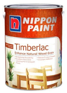 NIPPON PAINT TIMBERLAC 1L [6 COLOURS]