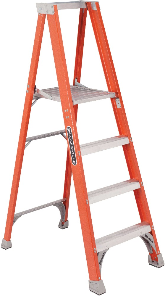 Louisville Hd Fiberglass Platform Ladder Fp1500 Series