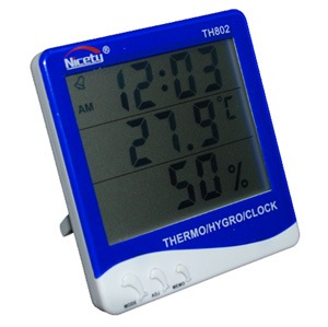 DIGITAL TEMPERATURE & HUMIDITY THERMOMETER TH802
