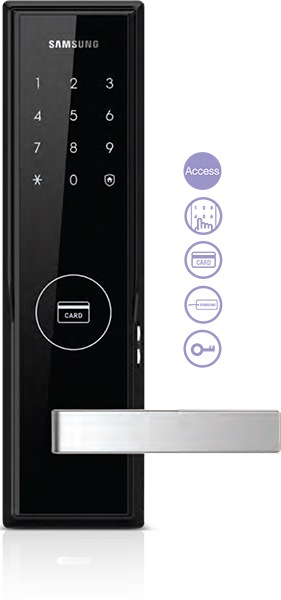 SAMSUNG DIGITAL LOCK MORTISE/HANDLE SHS-H505/5050 [FREE INSTALLATION]