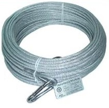 SAFETY LIFE LINE HAMP COVERED WIRED WIRE ROPE 40M