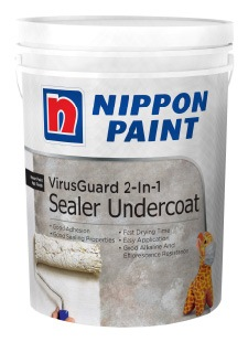NIPPON PAINT VIRUS GUARD 2-IN-1 SEALER UNDERCOAT 5L