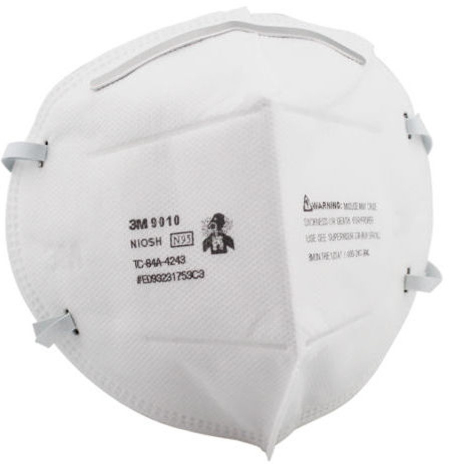 3M RESPIRATOR N95 MASK-9010 50PCS/BOX