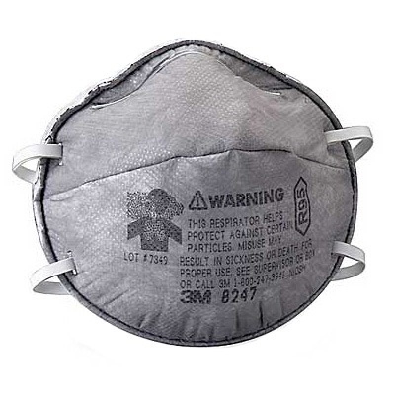 3m R95 Respirator Mask 8247 (20 Pieces/box)