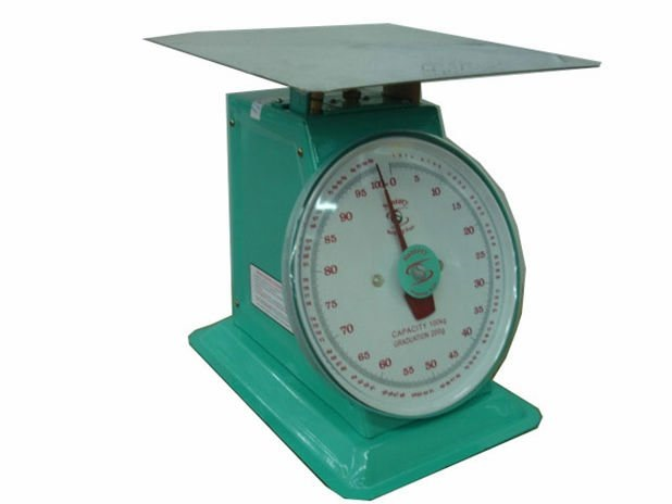 National Weighing Scale N100 With Flat Top 100kg