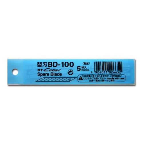 Nt Cutter Spare Blades Bd-100 (5pcs/pkt )