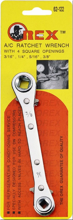 OREX WRENCH 4 WAY RATCHET  3/16 1/4 5/16 3/8 INCHES