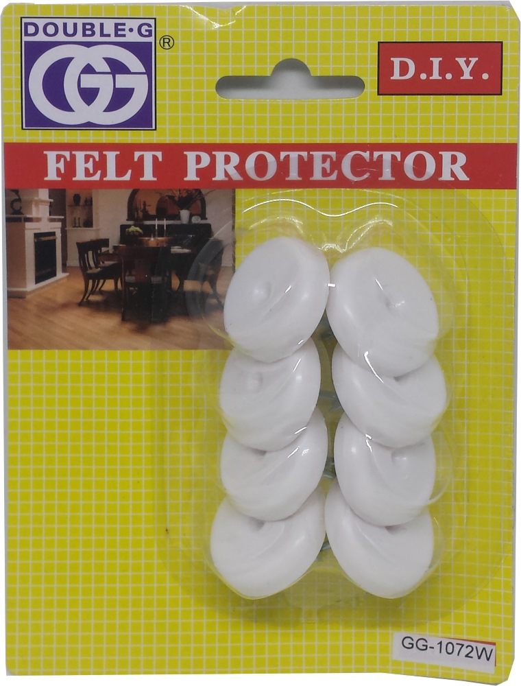 GG MED NYLON PROTECTOR/NAIL 26MM GG1072W- 8PPP