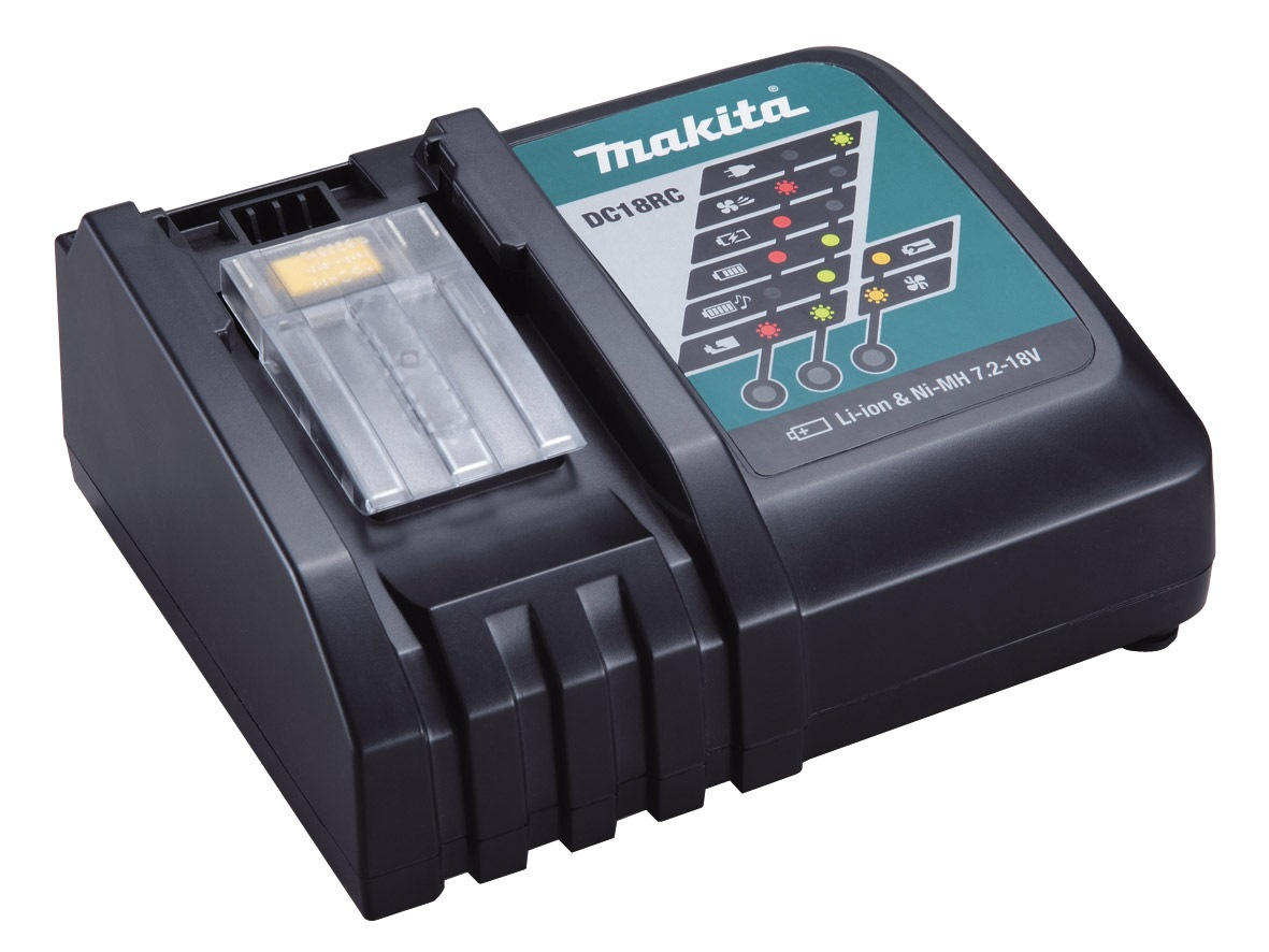 Makita 14.4V-18V Li-ion Charger DC18RC