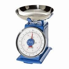 WEIGHING SCALE WITH ROUND TOP 20KG