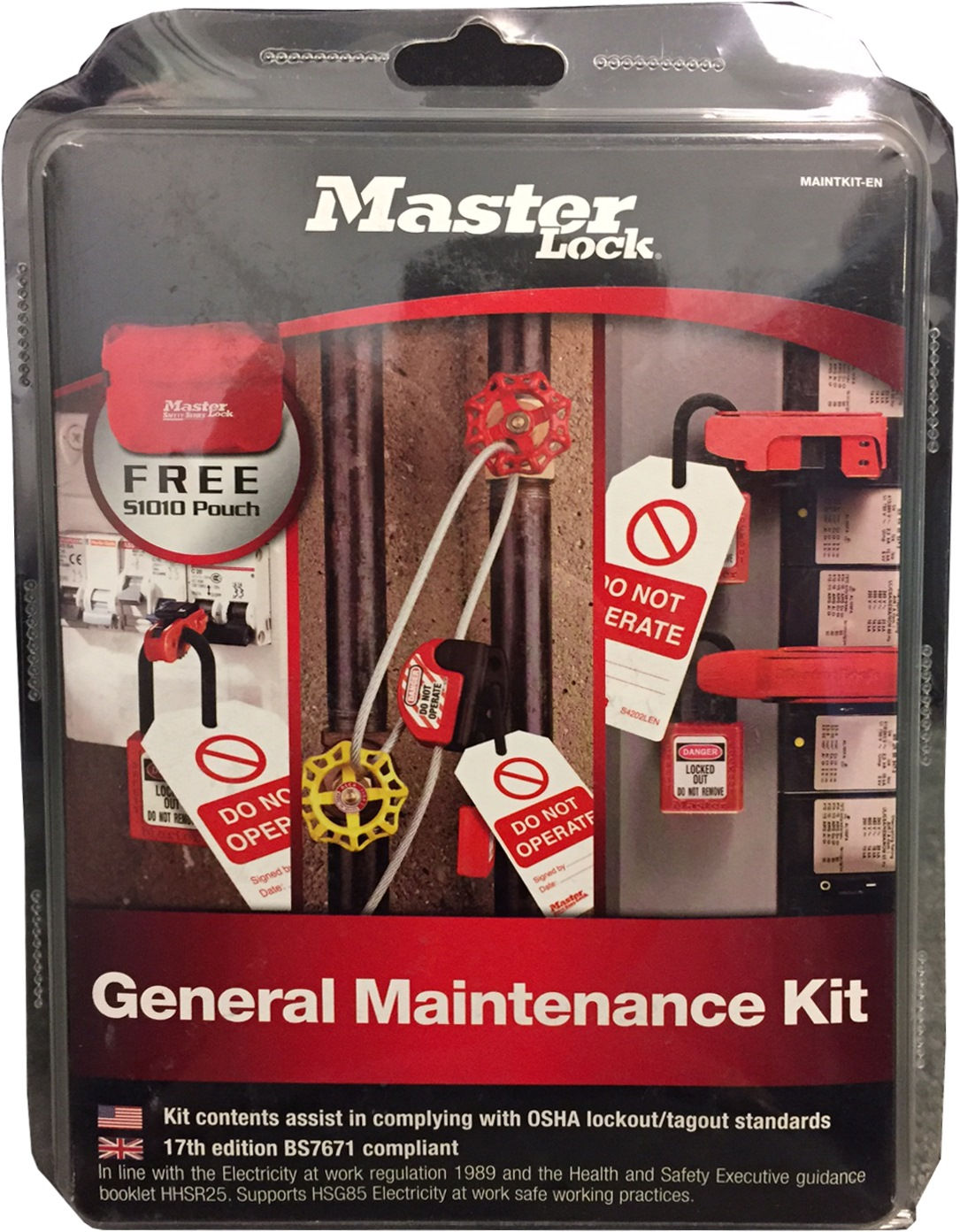 MASTERLOCK GENERAL MAINTENANCE LOTO KIT