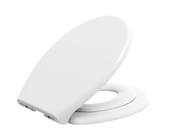 SHOWY ADULT TODDLER DUAL TOILET SEAT C/W MAGNETIC HOLDER 2494AT (2494-501)