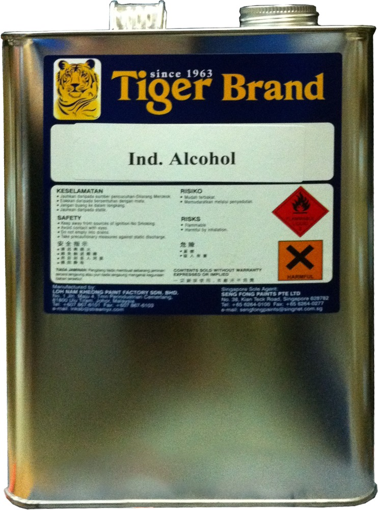Tiger ALCOHOL Industrial Grade
